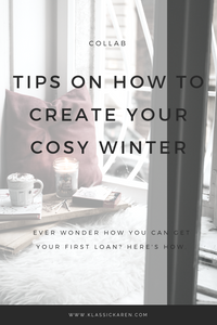 Tips on how to create your cosy winter by Klassic Karen