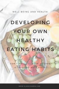 Klassic Karen on developing your own healthy eating habits