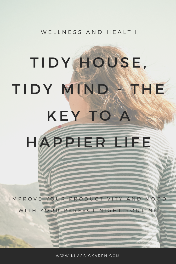 Klassic Karen on the tidy house tidy mind lifestyle