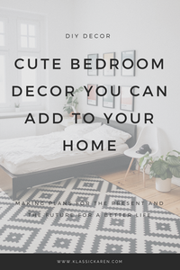 Klassic Karen on cute bedroom decor ideas