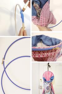 Klassic Karen step by step embroidery hoop