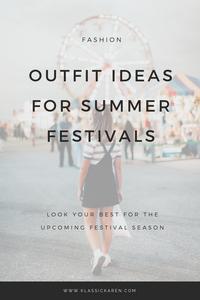 Klassic Karen provides some outfit ideas for summer festivals
