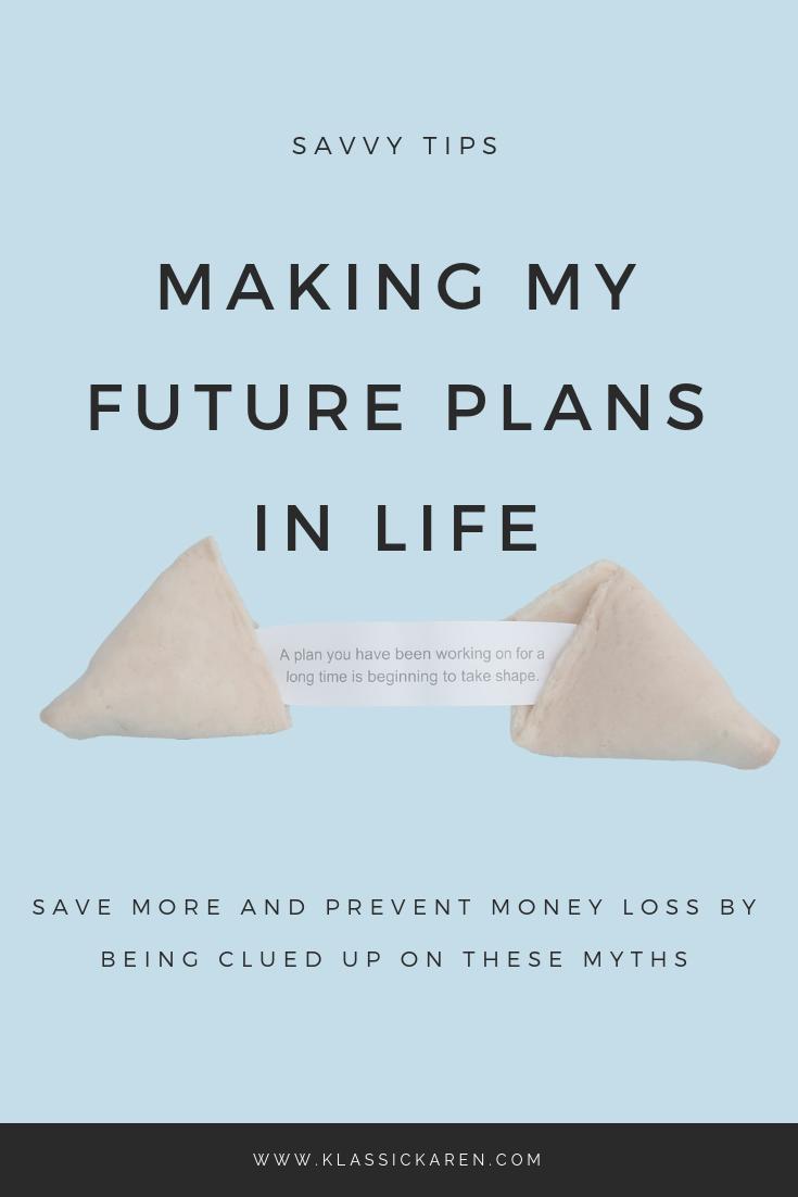 Klassic Karen on making future plans in life