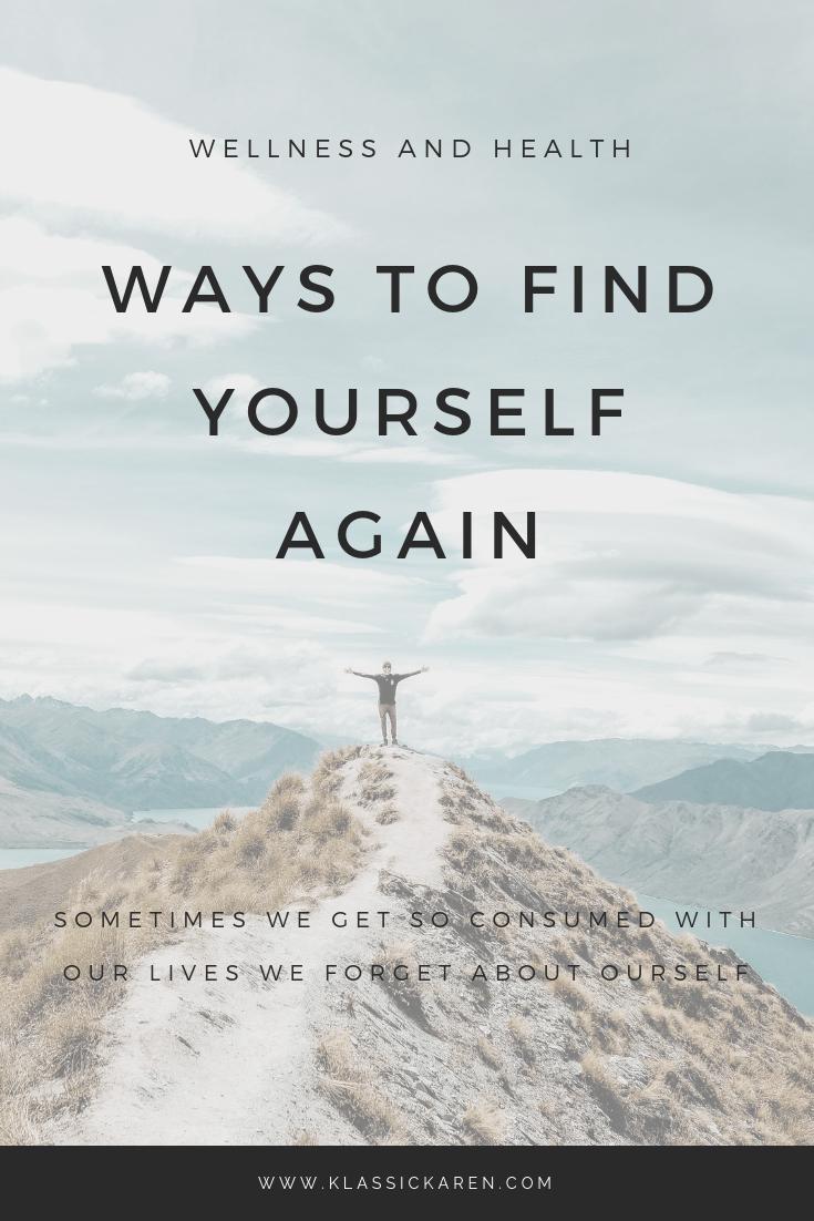 Klassic Karen on how to find yourself again