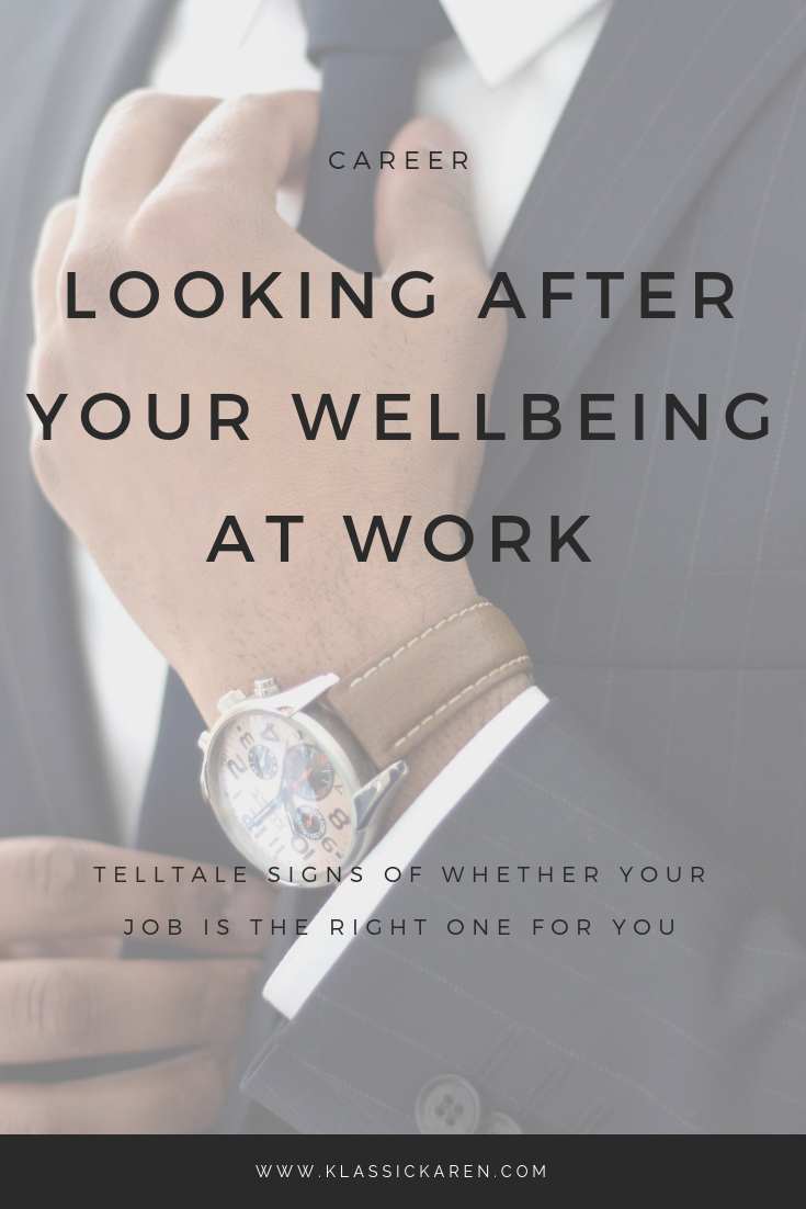 Klassic Karen on looking after your wellbeing at work