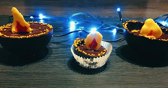 Mini Chocolate Diyas
