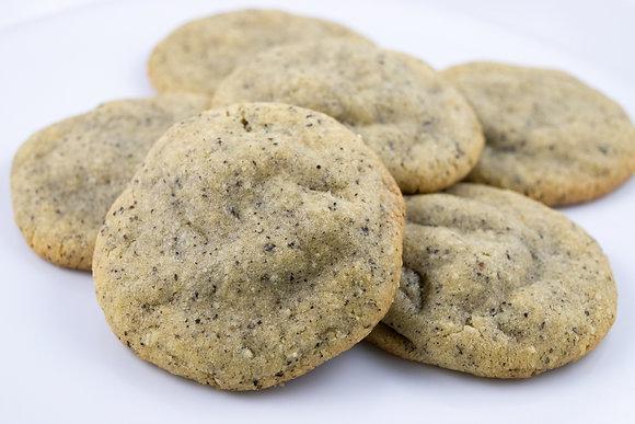Black Sesame Mochi Cookie