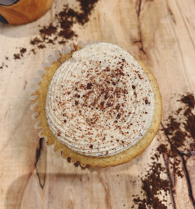 Tiramisu Cupcake with Mascarpone Icing