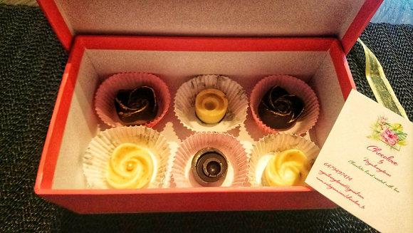 Plain Dark and White Assorted Chocolates