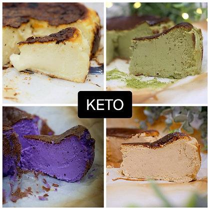 Basque Burnt Cheesecake (Keto | 6 inch)
