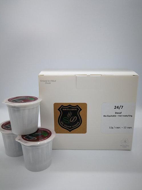 Dosettes pour machines Keurig - 24/7