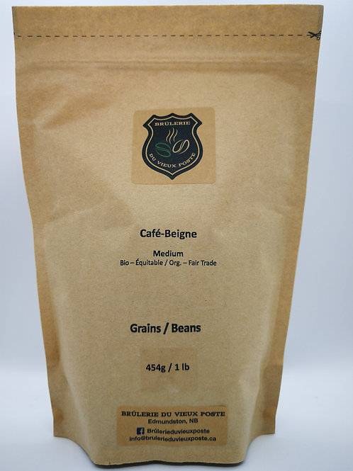 Café-Beigne - 454g (1 lb) - En grain