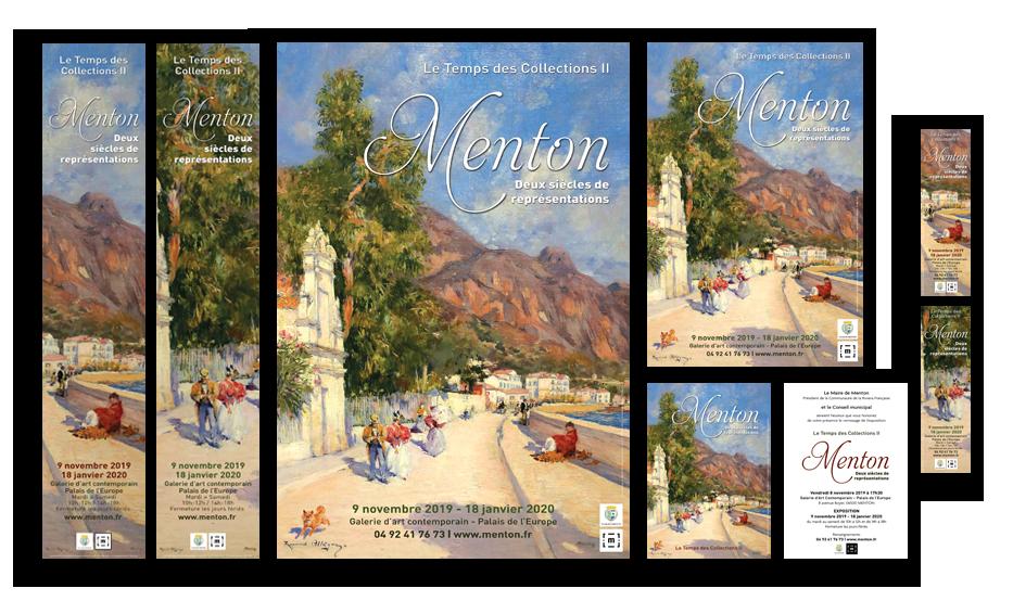 Menton, 2 siècles de représentation