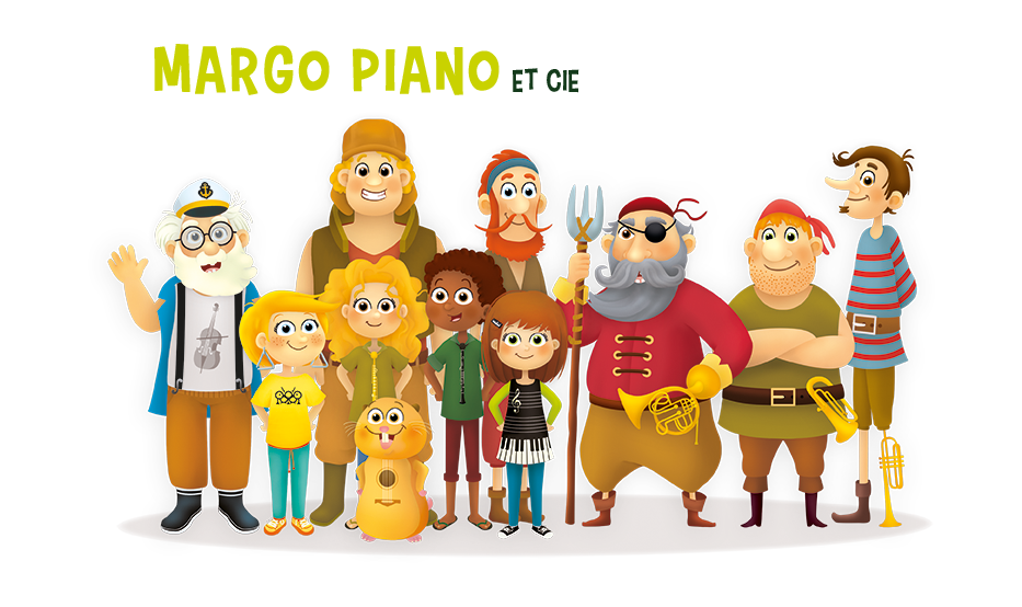 Les aventures de Margo Piano