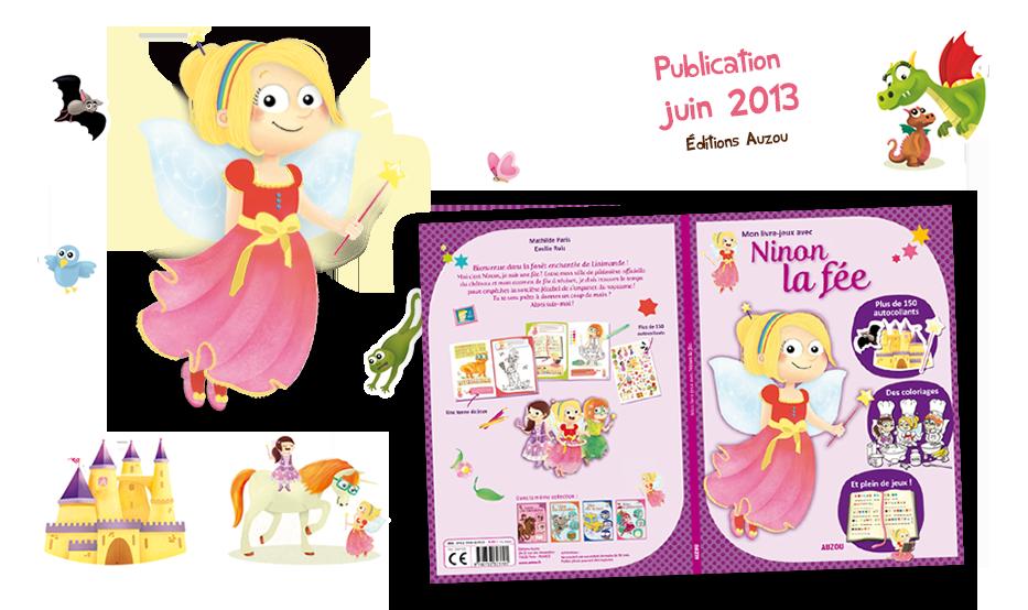 Mon livre-jeux avec Ninon la fée