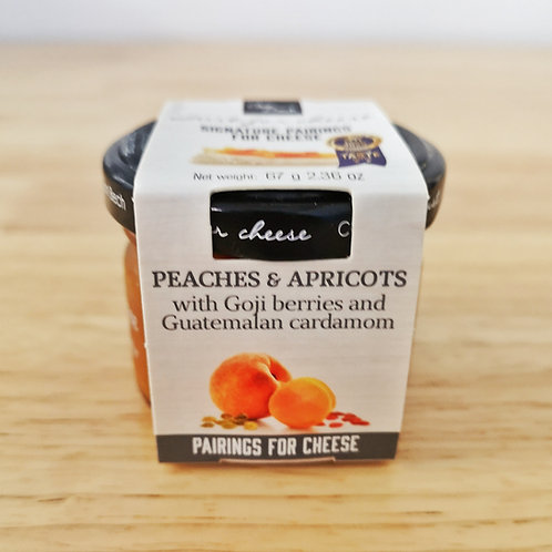 Peaches & Apricots Jam for Soft Ripened Cheeses