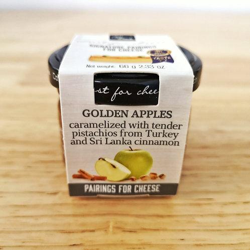 Golden Apples Jam for Hard Cheeses