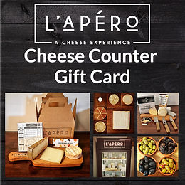 Cheese Counter - Gift Card