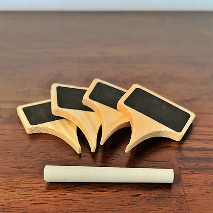 Wooden Cheese Markers