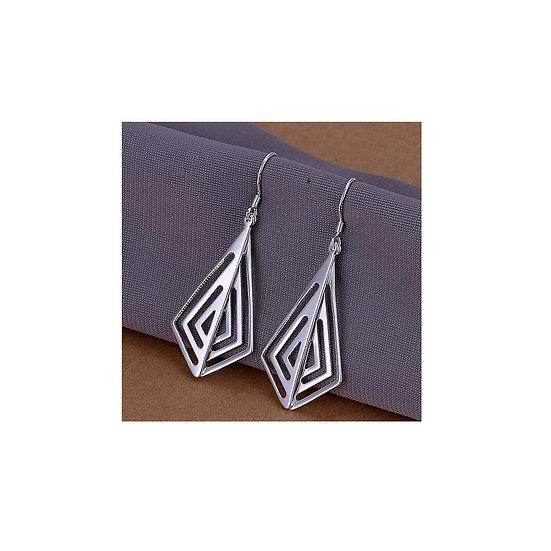 Smooth Rhombus Earrings