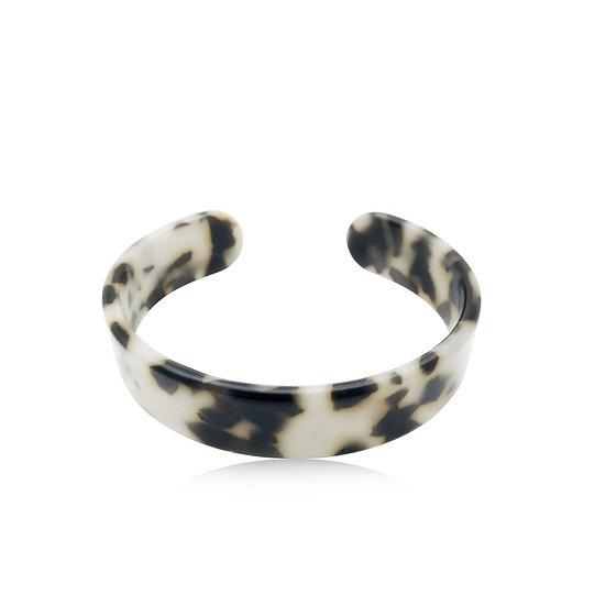 Animal Print Open Cuff Bracelet