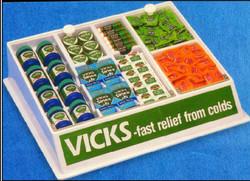 vicks table display big