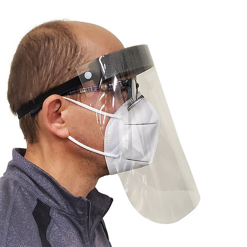 Medical Face Shield Adult (Pack of 5)