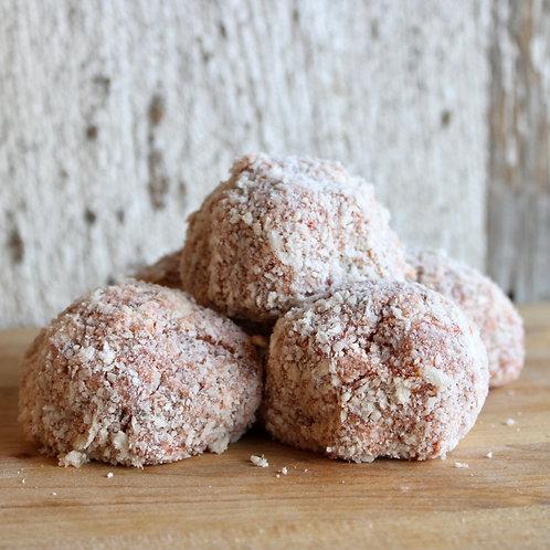 Chicken Parmesan Meatballs w/ Fresh Mozzarella