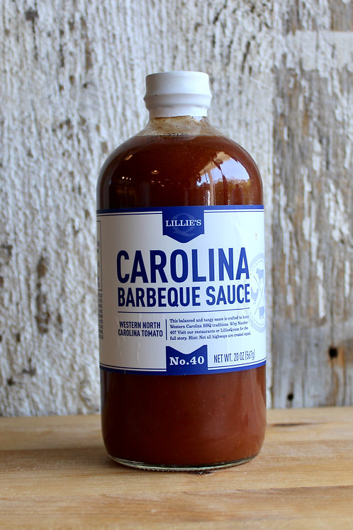 Lillie's Q Carolina Style BBQ Sauce