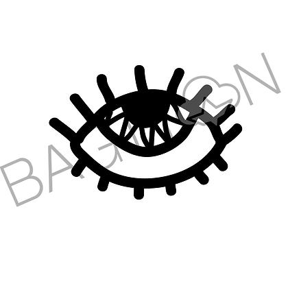 Arte digital - Olho A (Twiggy Eye)