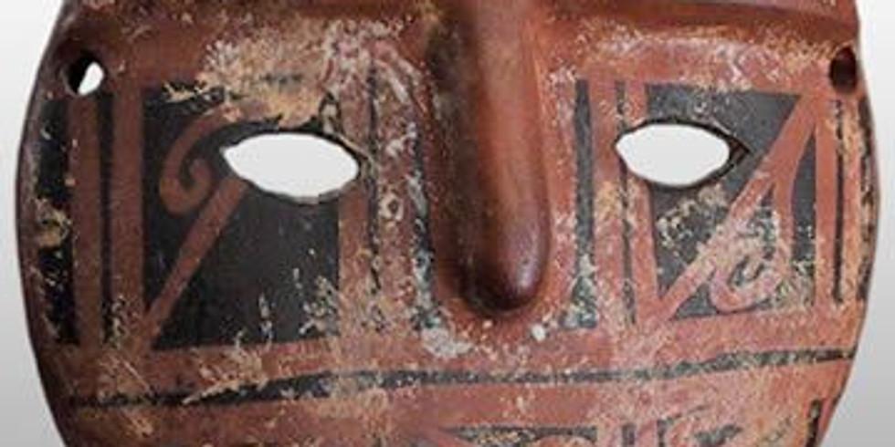 Máscaras y estatuillas precolombinas en arcilla