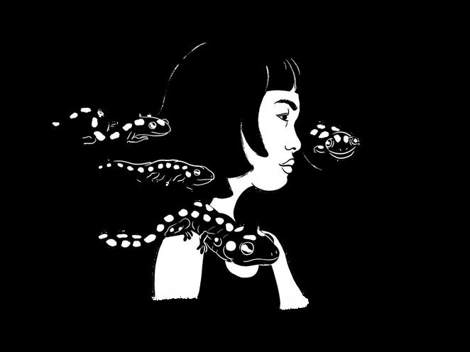 Salamander Girl