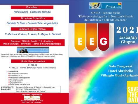 Corso EEG SINPIA. Villaggio Mosè, 21/23 Giugno 2021.