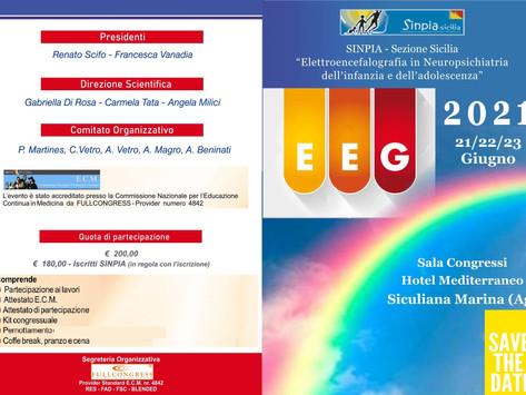 EEG in Neuropsichiatria dell'infanzia e dell'adolescenza-SINPIA- Siculiana, 21/23 Giugno 2021