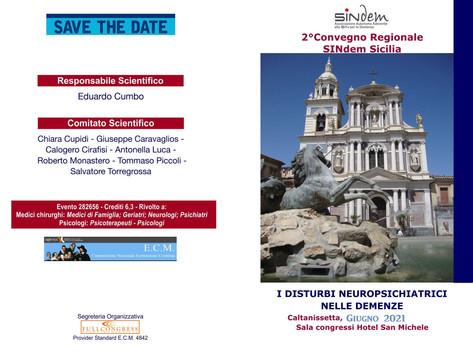 2° Convegno Regionale SINdem Sicilia - Caltanissetta, Giugno 2021