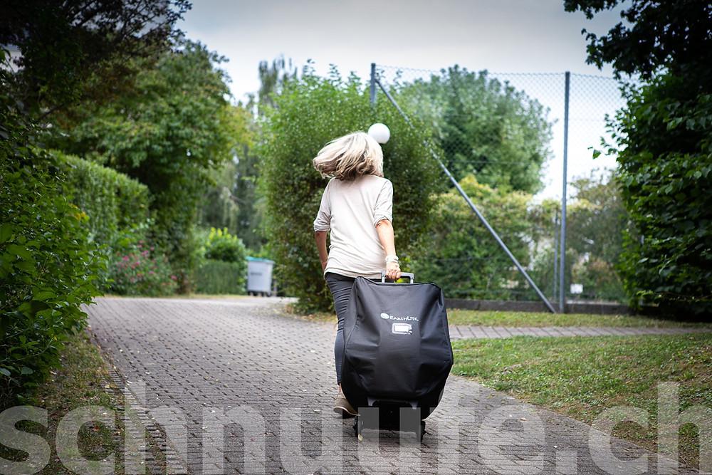 Massage am Arbeitsplatz, Powerchair, schnuufe.ch, Judith Tschopp, Atemtherapie und Massagen,