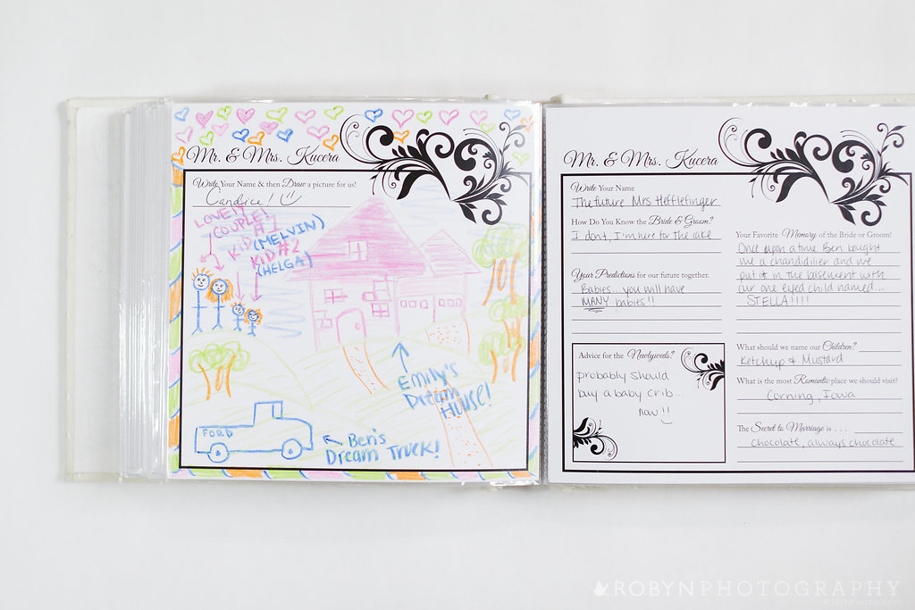 Guestbook Pages Wedding