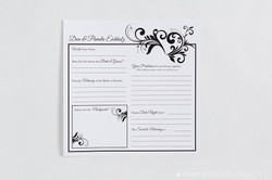Guestbook Pages Damask Heart