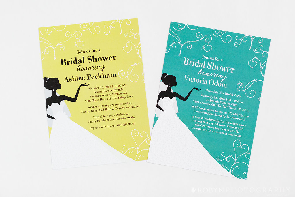 Diamond Bride Shower Invitation