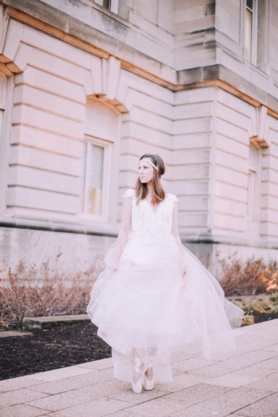 iowa bride, nutcracker wedding, winter wedding, cedar rapids Iowa