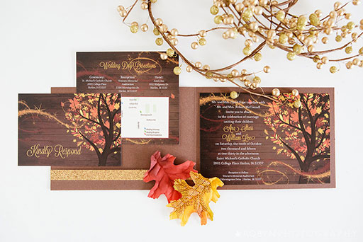 Windy Day Invitation Suite