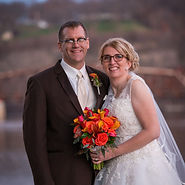 Photo of EmDesign bride and groom from Galena, Illinois