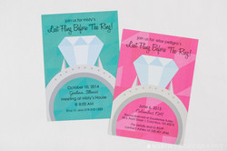 Big Ring Bachelorette Party Invites