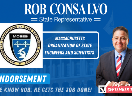MOSES Endorses Rob Consalvo for State Representative