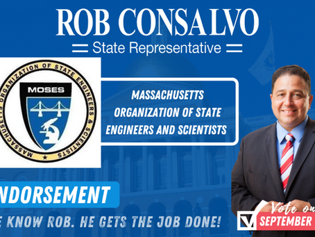 MOSES Endorses Rob Consalvo for State Representative