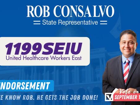 1199SEIU Endorses Rob Consalvo for State Representative