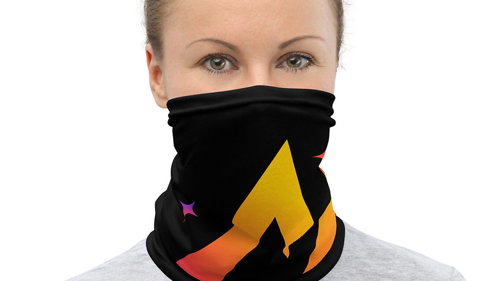 Sparkles and Strength Neck Gaiter