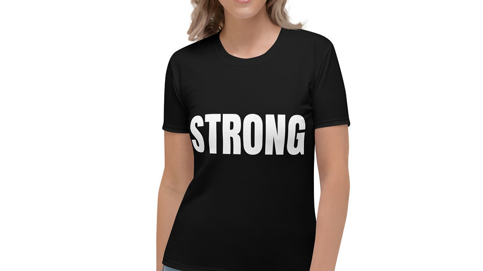 STRONG Sparkles and Strength Women's T-shirt