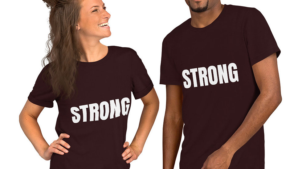 STRONG Sparkles and Strength Short-Sleeve Unisex T-Shirt