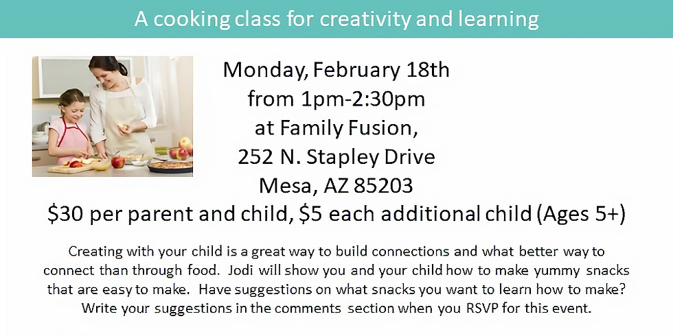 My Little Chef's Cooking Class